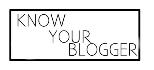 Tag: Know Your Blogger