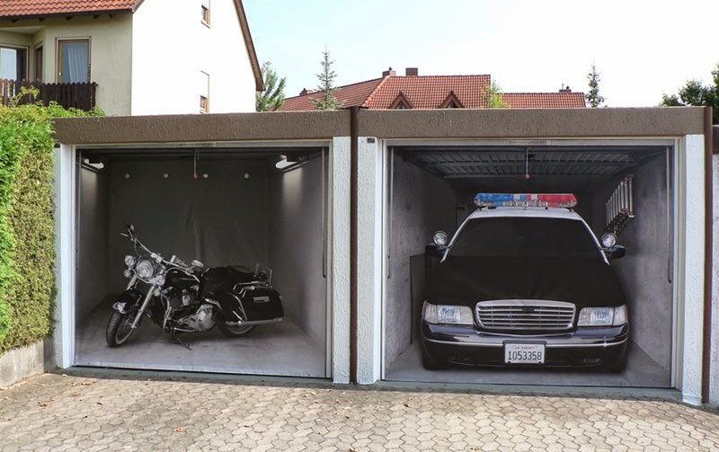 3d Garage Door Sticker Style Your Garage