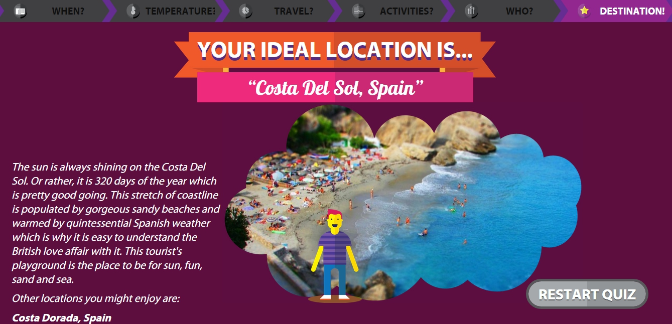 Need help with your next holiday destination