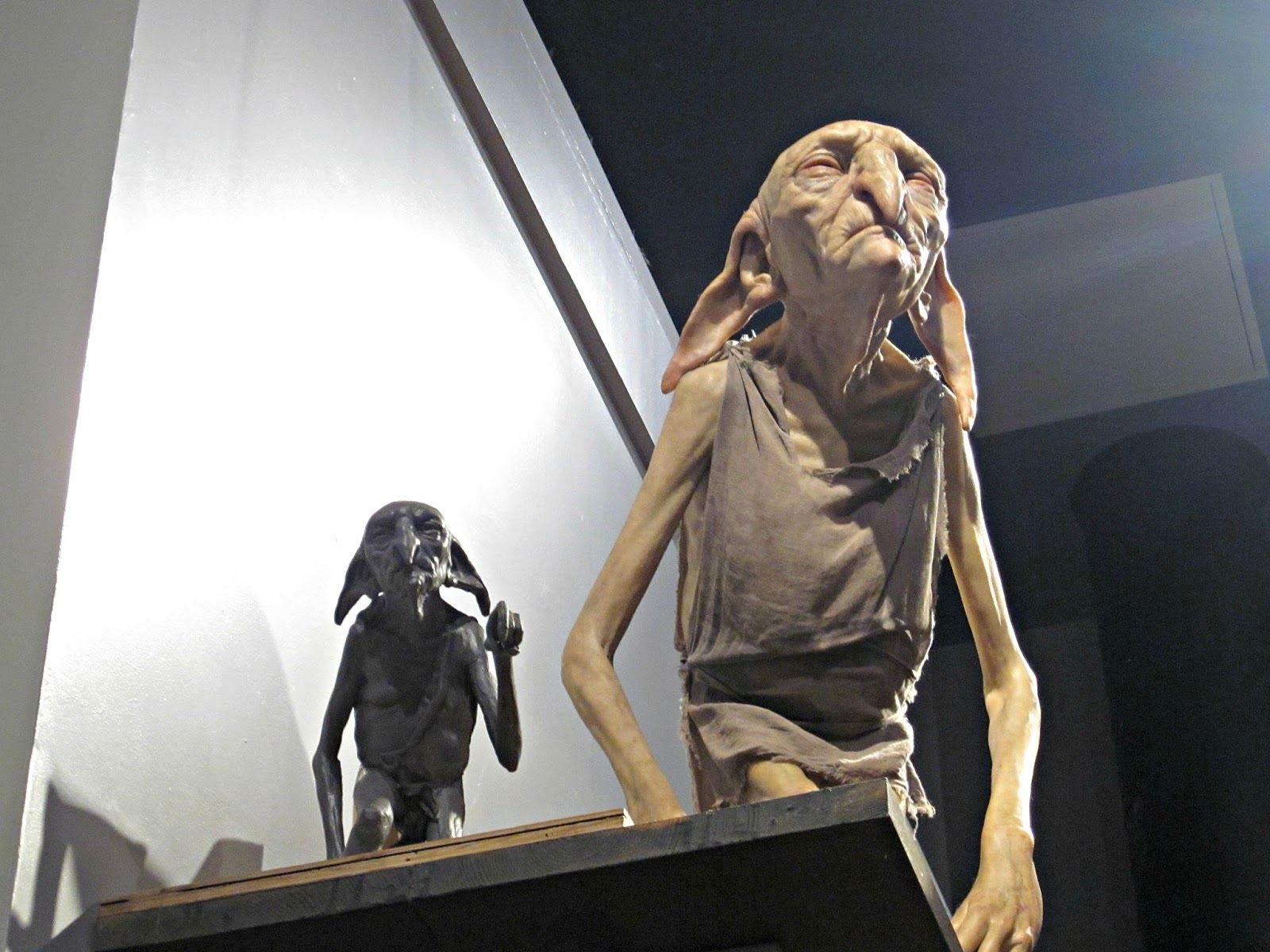 Kreacher at The Making Of Harry Potter Warner Brothers Studio Tour