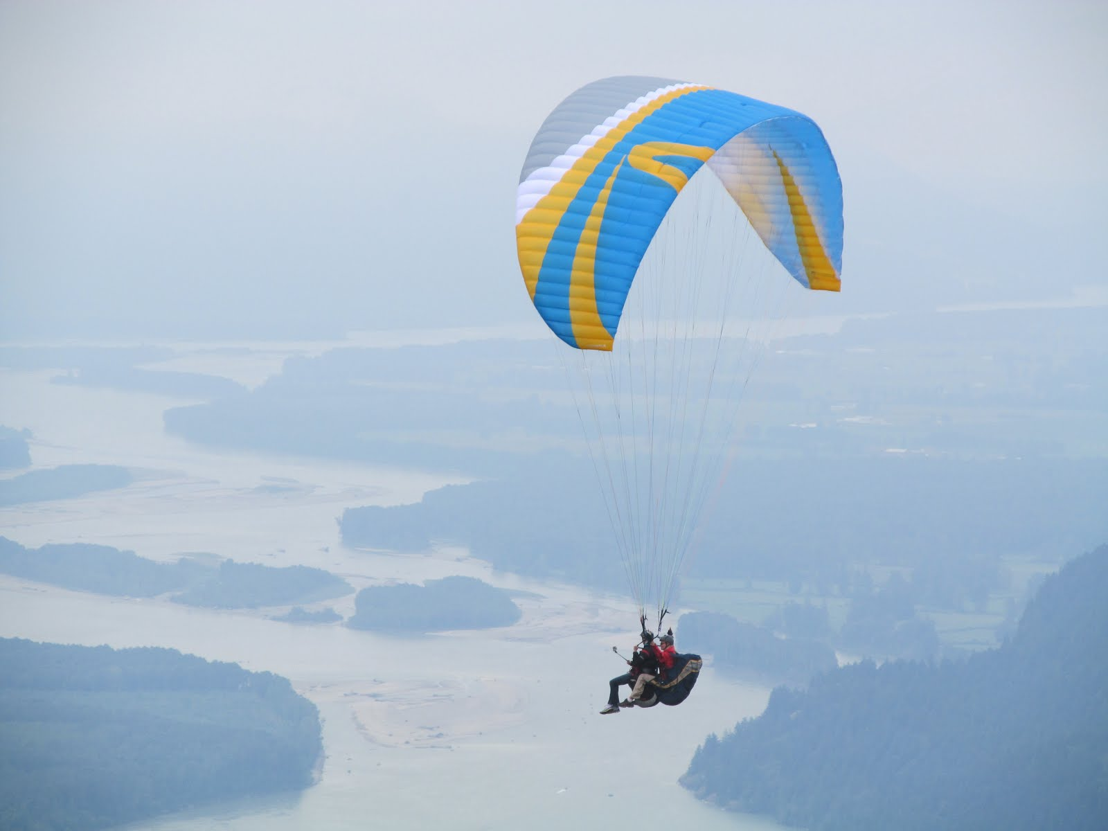 Tandem Paragliding Flight Skywalk Join't 3