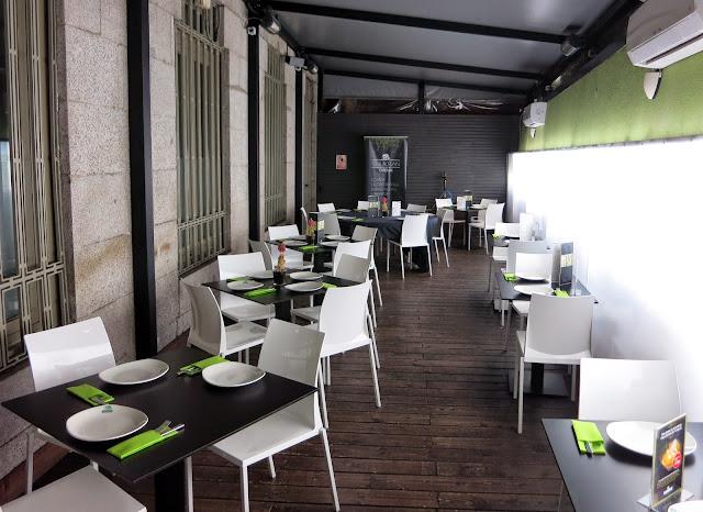 Sala intermedia, restaurante Shukran (Casa Árabe)