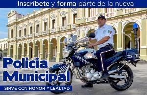Emite Ayuntamiento convocatoria para Policía Municipal