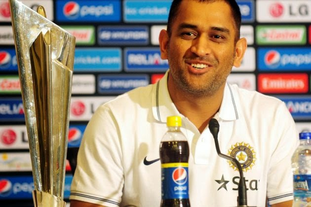 MS-Dhoni-during-press-conference-ahead-World-Twenty20-2014