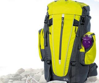 Plecak turystyczny Biedronka