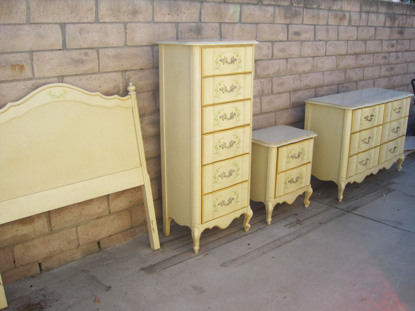 Rhan Vintage Mid Century Modern Blog My 1970 39 S French Provencial Bedroom Set Is For Sale