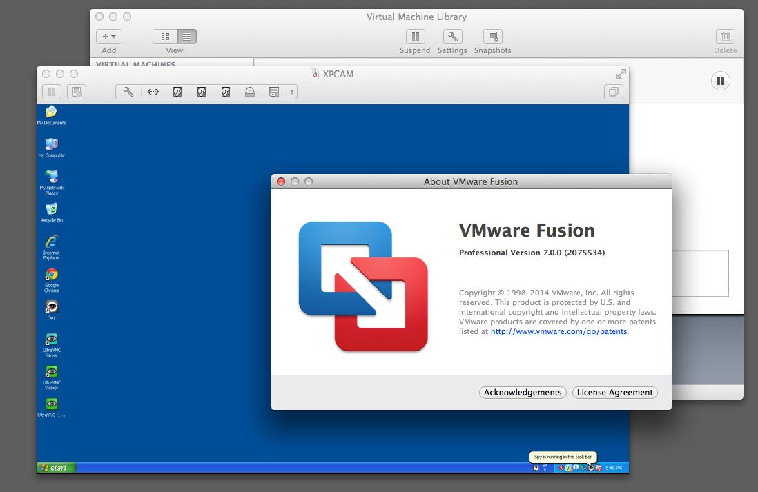 VMware Fusion 7 mac width=