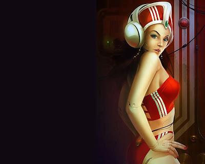 Mujeres bonitas en un mundo fantástico (wallpapers)