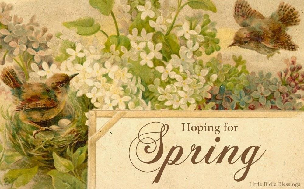 Free Spring Vintage Graphics