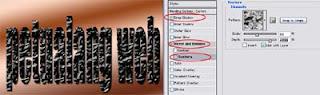 cara membuat efek pecah pada teks dan hurup menggunakan aplikasi photoshop