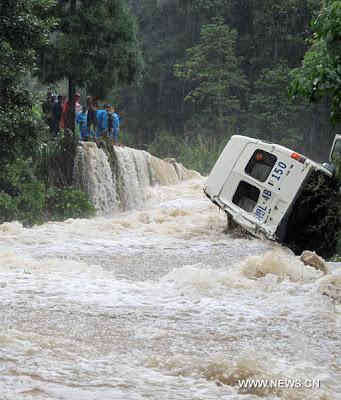 Inundaciones China Junio 2012