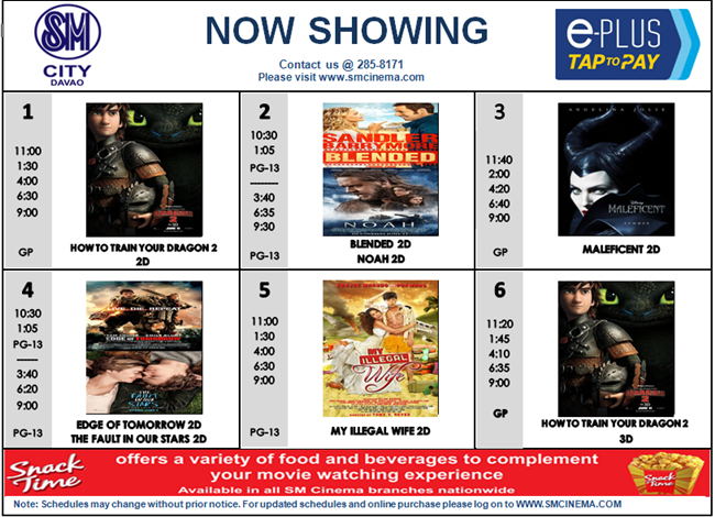 davao city malls cinema schedule enter davao