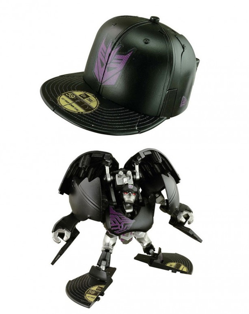 Transformers Cap Bots is exactly what you are thinking right now – a New Era  59FIFTY fitted cap that transforms into a robot. Autobot and Decepticon  models ... 27e00c71534d