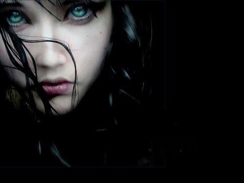 eyes evil dark vampire wallpaper - photo #21