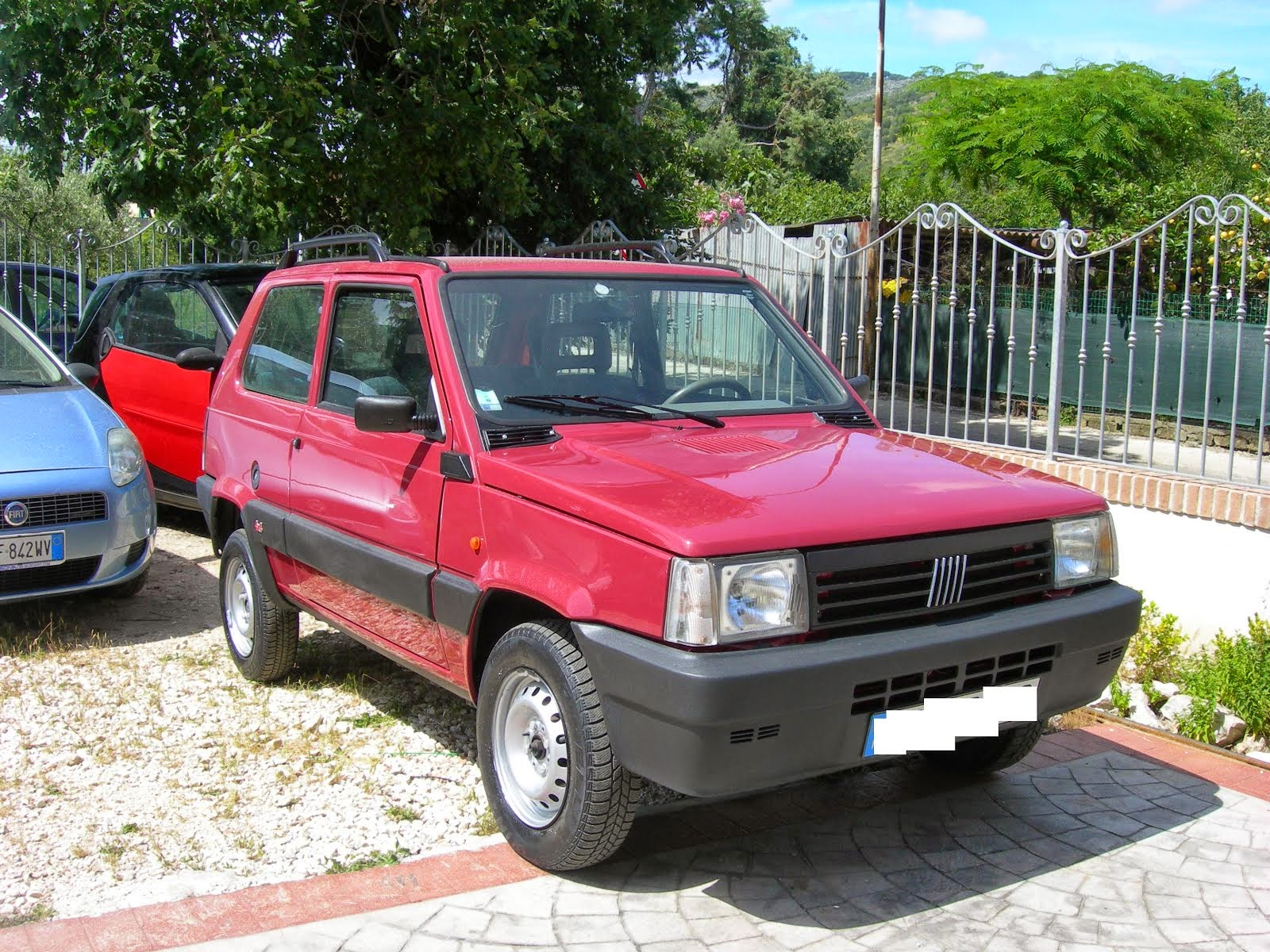 Fiat Panda 1.1 i.e. Trekking 4x4  Anno 1999 70.000 km
