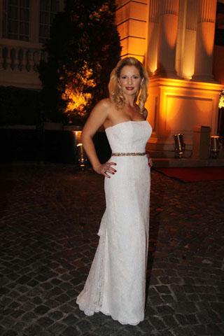 Gala revista gente 2012, Carina Zampini, famosos mal vestidos