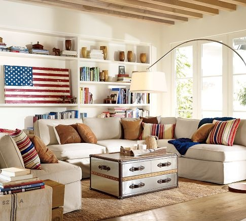 Beyond the aisle patriotic home decor for memorial day for Patriotic home decorations