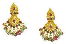 crystal drops earrings