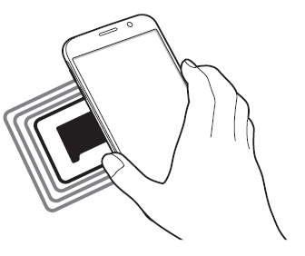 Using the NFC feature