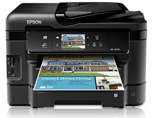 Epson Workforce WF-3540 Ink Image