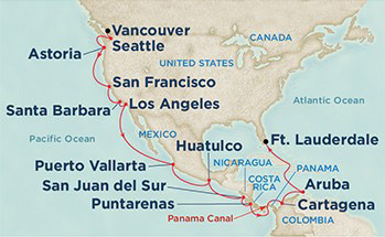 Croisière Canal Panama 2016