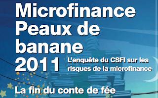 microfinance peaux de banane 2011