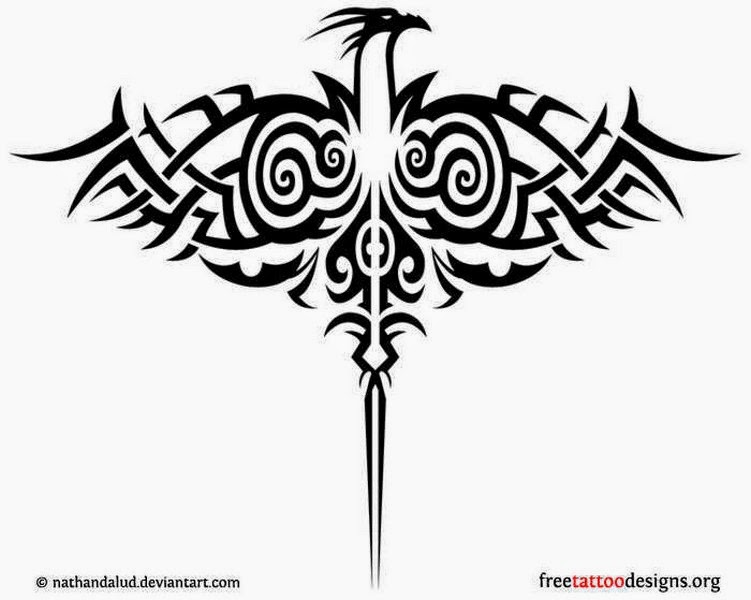 Tribal Phoenix Tattoo Ideas