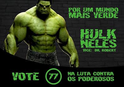 Eleições 2012: VOTE HULK