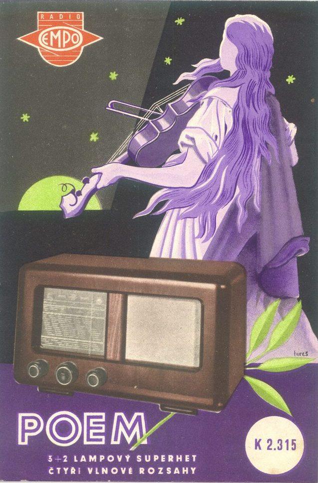 Doctor Ojiplático. Aparatos de Radio. 42 ejemplos de publicidad vintage. Empo