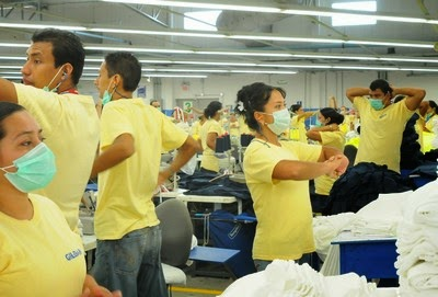 Ergonomics in apparel industry