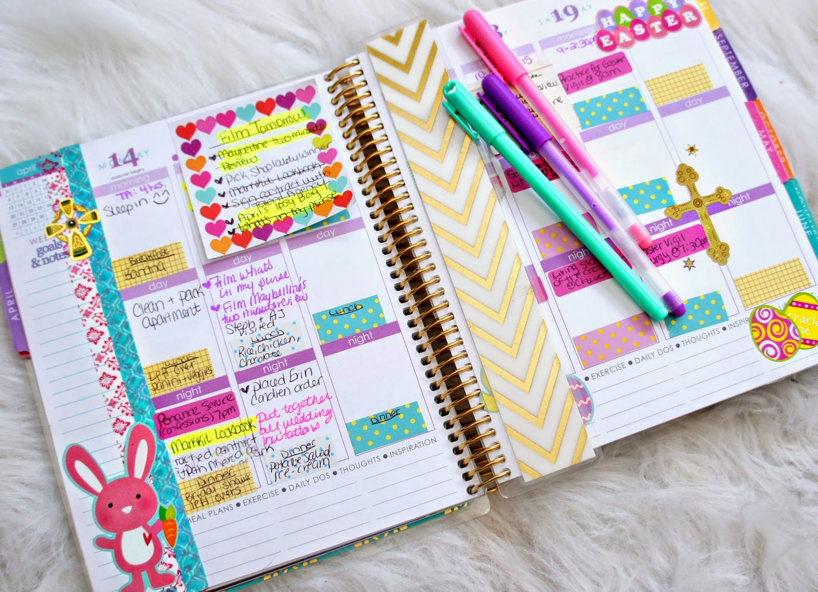 Belindaselene planneraddicts for Page decoration ideas