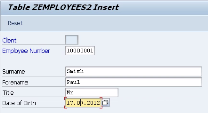 Working with Database Tables in SAP ABAP