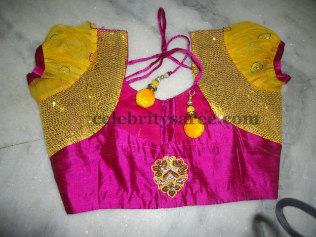 Wedding Silk Blouse Designs