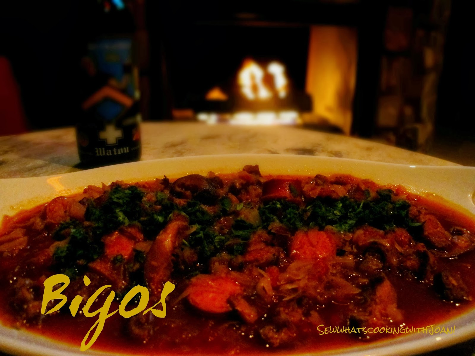 bigos known as a hunter s stew is a traditional meat stew typical of ...
