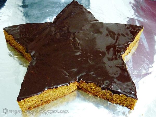 Chocolate Orange Star Cake