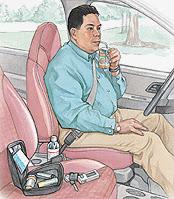 Volante y diabetes