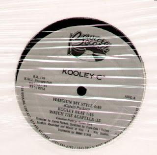Kooley C - Watchin My Style - Lets Dance (Vinyl, 12\'\' 1989)(Beware Records)