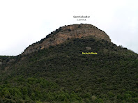 Aproximació fotogràfica al cim de Sant Salvador i al Roc de la Monja