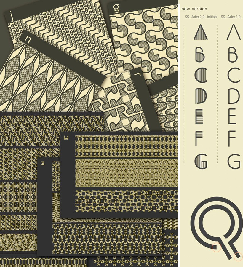 Typeface Adec2.0 (free) by Serge Shi