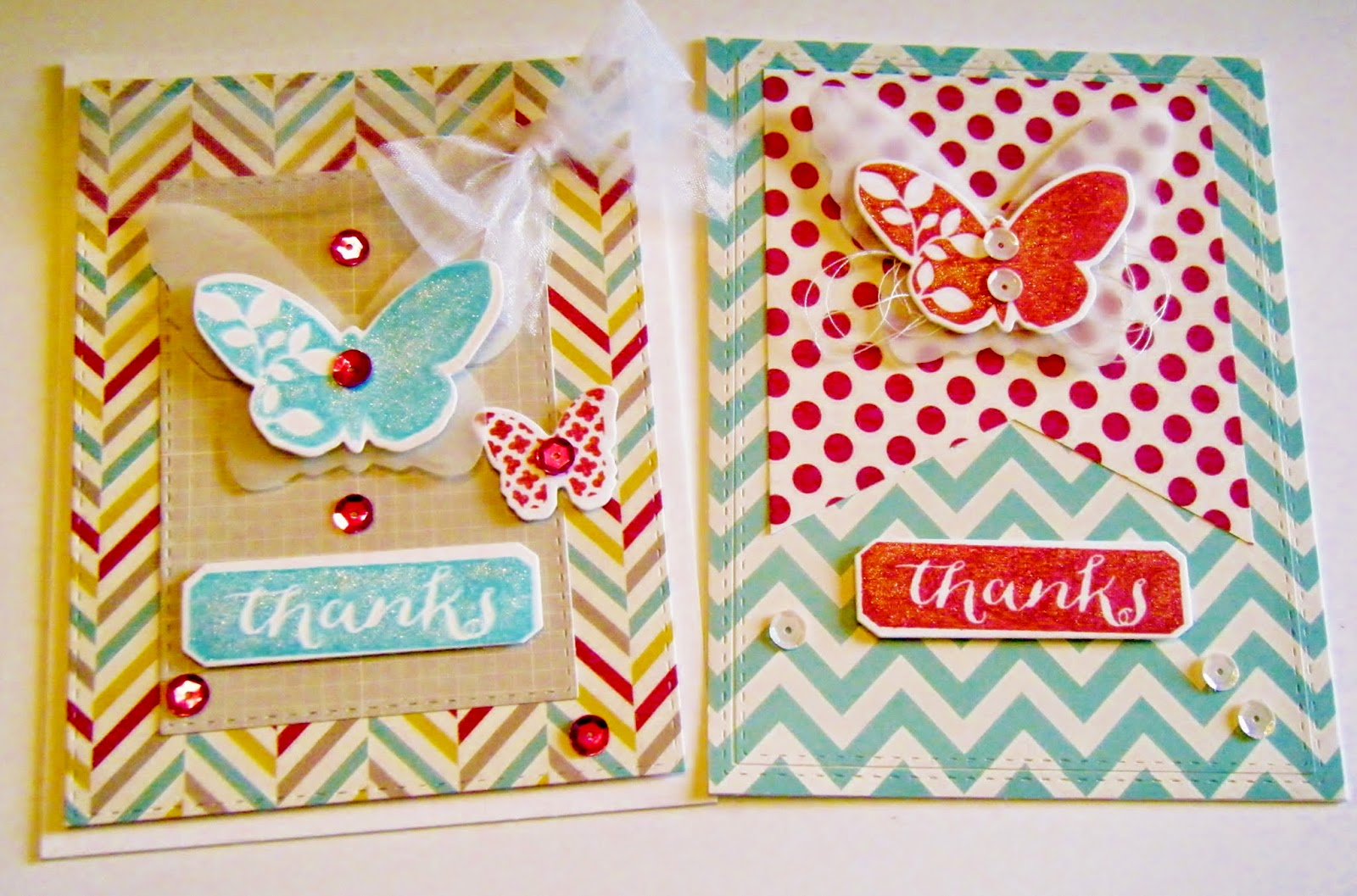 How To Make Friendship Cards Part - 24: I Have A Few Butterfly Thank You Cards To Share I Made Using The Simon Says  Die And Stamp Friendship Butterflies Pure Sunshine Set. Here They Are:
