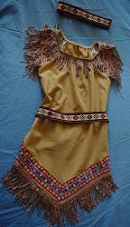 Indiańska sukienka
