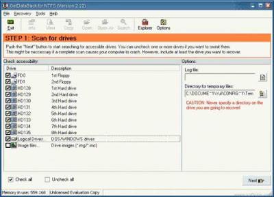 Runtime GetDataBack v4.33 for FAT-NTFS + PORTABLES