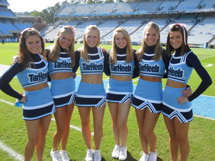 Cheer Heaven: North Carolina Cheerleaders Are Ready for ...