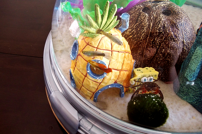 Bio Bubble Pets Aquarium with Spongebob Theme
