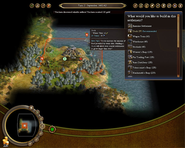 Civilization 4 Colonization - First Colony Screenshot