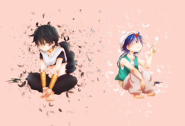 judal aladdin Magi the labyrinth of magic anime boy male butterfly konochan hd wallpaper desktop pc background a99.