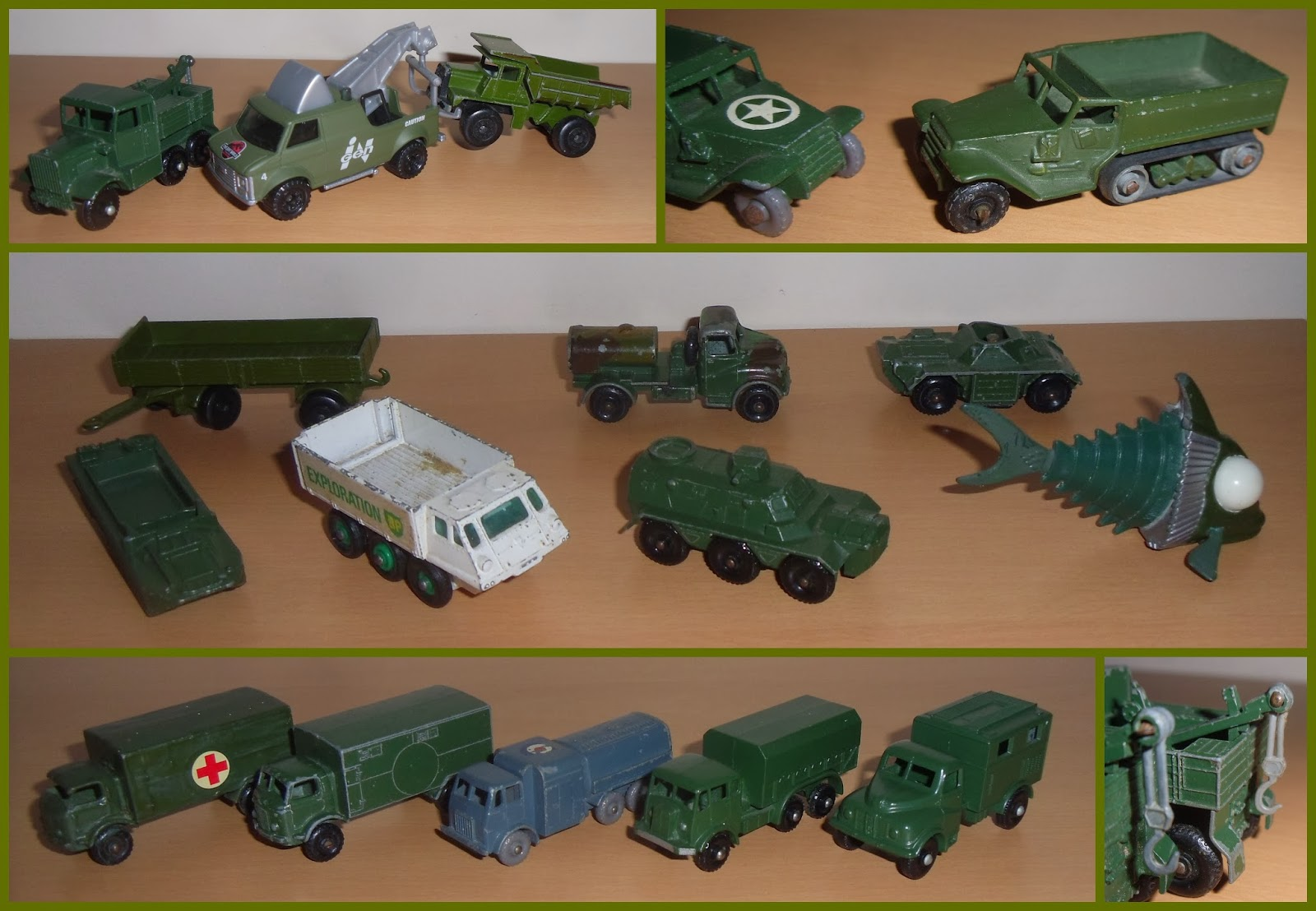 M Is For Matchbox Military Bits And Pieces Small Scale World