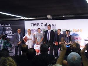 En la entrega de premios de TMB - NARRATIVA.