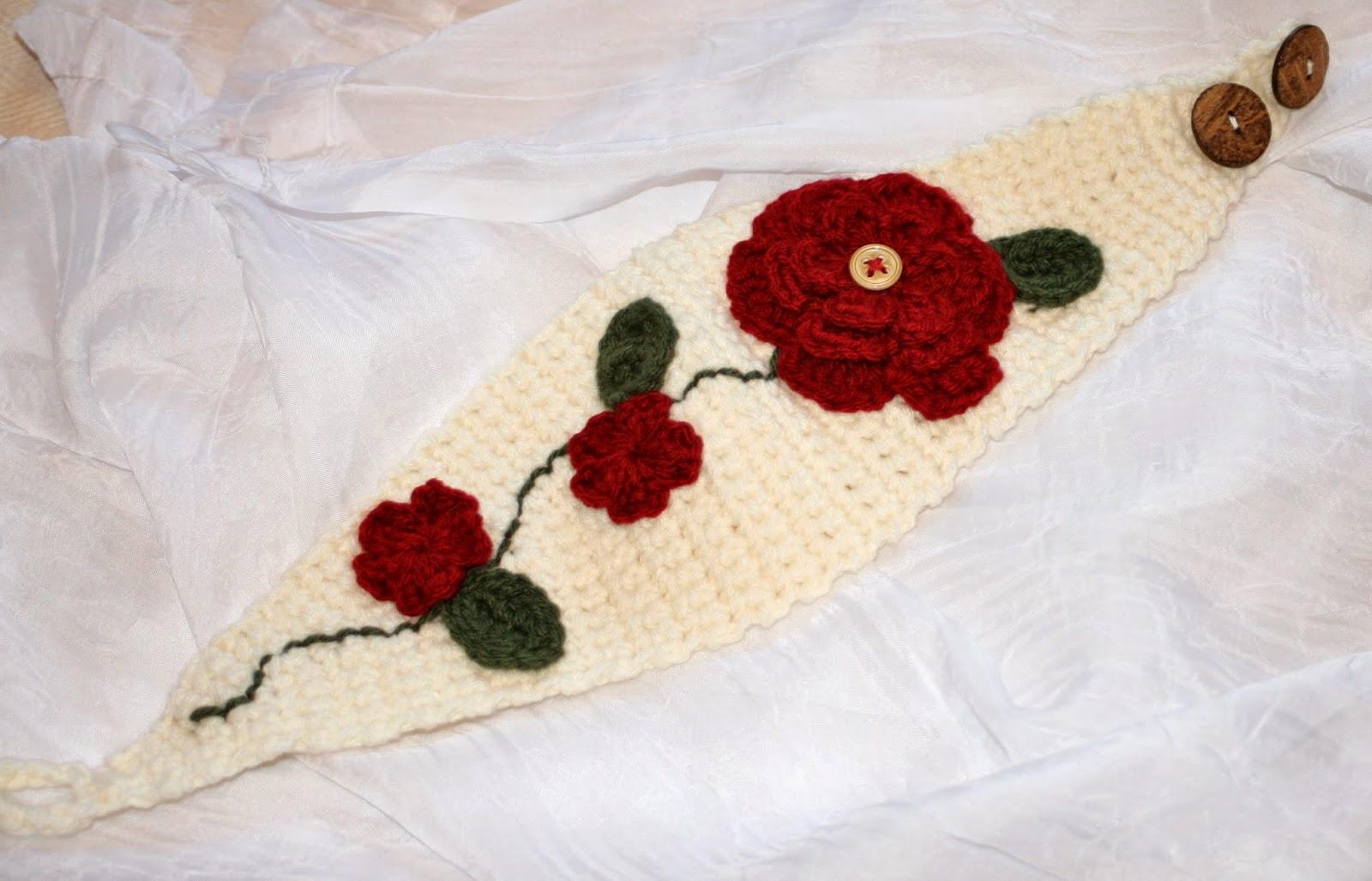 Flowered Headwrap