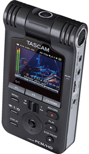 Tascam DR-V1HD Linear PCM / HD Video Recorder Available For Pre-Order